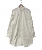 Dulcamara(ドゥルカマラ)の古着「ストライプシャツ」 ホワイト