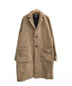 NEIGHBORHOOD(ネイバーフッド)の古着「20A/W CHESTER / W-COAT」|キャメル