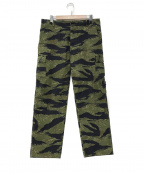 THE REAL McCOYS(ザ リアルマッコイズ)の古着「TIGER CAMOUFLAGE TROUSERS」 カーキ