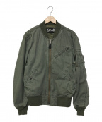 SCHOTT BROS.(ショットブロス)の古着「MA-1ジャケット」|カーキ