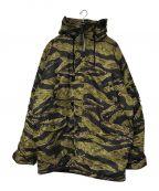 ALPHA INDUSTRIES(アルファインダストリーズ)の古着「N-3Bジャケット」|カモフラ