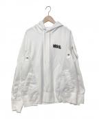 NIKE×sacai(ナイキ×サカイ)の古着「19A/W NRG HOODIE」 ホワイト