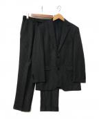 BURBERRY BLACK LABEL(バーバリーブラックレーベル)の古着「ストライプセットアップスーツ」 グレー