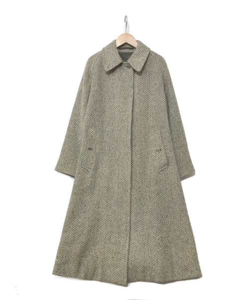 Burberrys(バーバリーズ)Burberrys (バーバリーズ) ツイードコート ベージュ サイズ:表記無し 80s~90s 1枚袖 IRISH TWEEDの古着・服飾アイテム