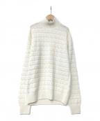 Cruciani(クルチアーニ)の古着「カシミア ハイネック セーター」|ホワイト