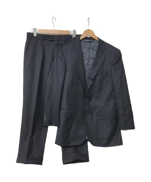 BROOKS BROTHERS(ブルックスブラザーズ)BROOKS BROTHERS (ブルックスブラザーズ) セットアップスーツ ネイビー サイズ:38 19-01-6424 カノニコ生地の古着・服飾アイテム