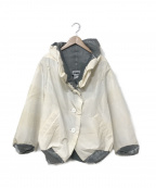 ISSEY MIYAKE FETE(イッセイミヤケフェット)の古着「内プリーツデザインジャケット」 アイボリー