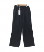 Graphpaper()の古着「Selvage Wool Wide Chef Pants」|ネイビー