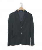 Cruciani(クルチアーニ)の古着「ジャージージャケット」|ブラック