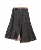TENNE HANDCRAFTED MODERN(テン ハンドクラフテッド モダン)の古着「4枚ロングスカート」|グレー