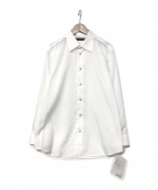 ISSEY MIYAKE MEN()の古着「long-sleeve fitted shirt」 ホワイト
