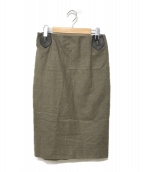 HERMES(エルメス)の古着「スカート」|ベージュ