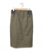 HERMES()の古着「スカート」 ベージュ