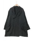 ()の古着「92A/W ナイロンダブルイカコート」|ブラック