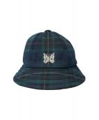 Needles(ニードルス)の古着「BERMUDA HAT」|ネイビー