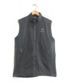 ()の古着「Atom SL Vest」|ブラック