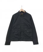 Trophy Clothing(トロフィークロージング)の古着「ジップアップジャケット」 ブラック