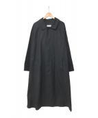()の古着「19A/W Double Cloth Peach Stein」|ブラック