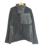 ()の古着「Hi-Loft Jacket」 ブラック