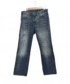 LEVIS VINTAGE CLOTHING()の古着「501ZXXデニムパンツ」|インディゴ