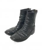 GUIDI()の古着「バックジップブーツ」|ブラック