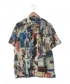 Paul Smith COLLECTION(ポールスミスコレクション)の古着「ベルビューアベニュープリントシャツ」 マルチカラー