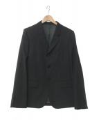 CELINE(セリーヌ)の古着「19S/S ノッチドラペル3Bジャケット」|ブラック