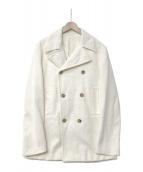 JIL SANDER(ジルサンダー)の古着「コーデュロイPコート」|アイボリー