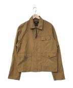 RRL()の古着「ジップアップジャケット」|ベージュ