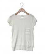 CHANEL()の古着「Tシャツ」 ホワイト