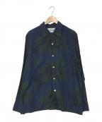 NOMA t.d.(ノーマティーディー)の古着「Harmony Shirt」 ネイビー
