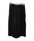 syte(サイト)の古着「テンセルハカマワイドパンツ」|ブラック
