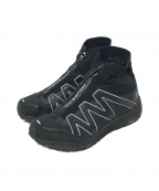 SALOMON(サロモン)の古着「reflective highcut sneakers」|ブラック