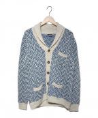 Drumohr(ドルモア)の古着「ニットジャケット」|ブルー