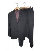 BURBERRY BLACK LABEL(バーバリーブラックレーベル)の古着「ストライプスーツ」|グレー