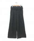 sulvam(サルバム)の古着「hight waist buggy PT」|ブラック