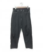 Graphpaper()の古着「21S/S Denim Five Pocket Pants」 グレー