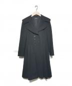 FOXEY BOUTIQUE(フォクシー ブティック)の古着「ウールカシミヤコート」|ブラック