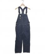 TCB jeans(ティーシービー ジーンズ)の古着「LACK CAT OVERALL」|インディゴ
