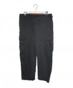 Porter Classic()の古着「WEATHER CARGO PANTS」 ブラック