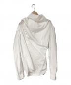 RICK OWENS(リックオウエンス)の古着「16S/S デザインシャツ」|ホワイト