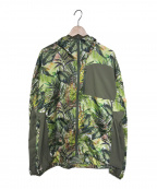 WHITE MOUNTAINEERING(ホワイトマウンテ二アニング)の古着「20S/S BOTANICAL PRINTED HOODED」|グリーン