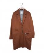 SHAREEF(シャリーフ)の古着「ロングコート」 テラコッタ
