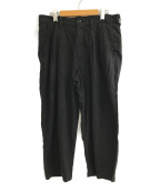 SEVESKIG(セヴシグ)の古着「LINEN EASY PANTS」|ブラック