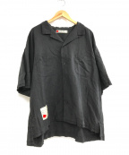 SEVESKIG(セヴシグ)の古着「H-SL LINEN SHIRT」|ブラック
