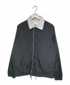 GANRYU(ガンリュウ)の古着「15A/W 内ボアコーチジャケット」 ブラック