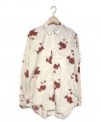BED J.W. FORD(ベッドフォード)の古着「18S/S Rose Shirt」|ホワイト