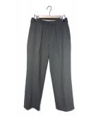 ()の古着「20S/S Straight slacks」|グレー