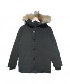 CANADA GOOSE(カナダグース)の古着「バンクーバーダウンコート」|ブラック