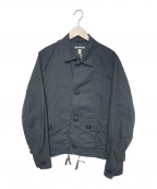 MONITALY(モニタリー)の古着「MILITARY SERVICE JACKET TYPE A」|ブラック